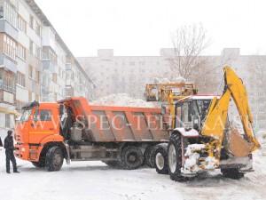 вывоз снега москва